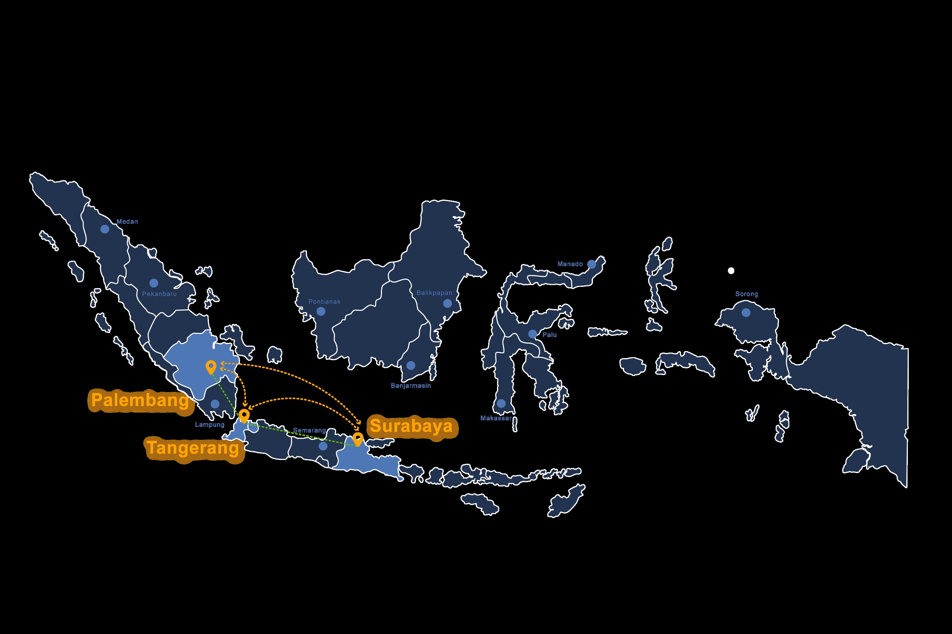 Paskomnas Network Map