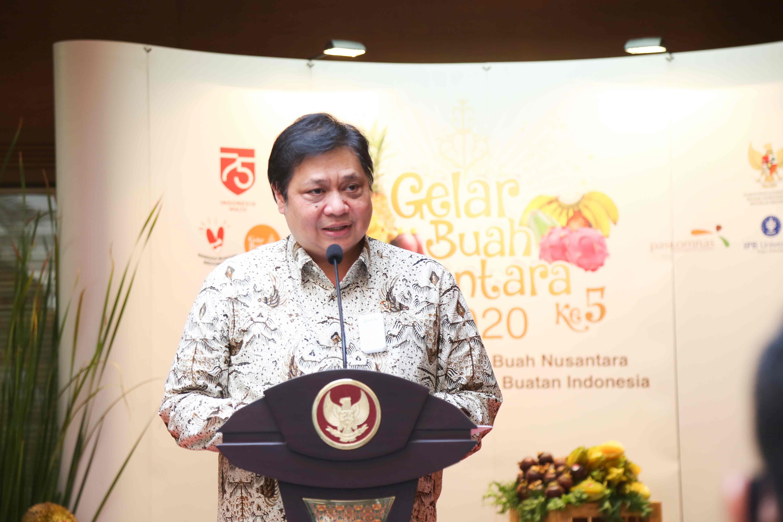 Gelar Buah Nusantara 2020, Di Kementerian Koordinator Bidang Perekonomian