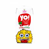 Carisayur Produk Hb Yo! Yogurt For Kids Lychee Spinach